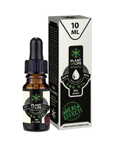 Plant Of Life - CBD olie 3% 10ml
