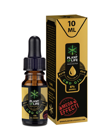 Plant Of Life - CBD olie 6% - 10ml