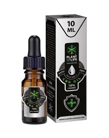 Plant Of Life - CBD olie 10% - 10ml